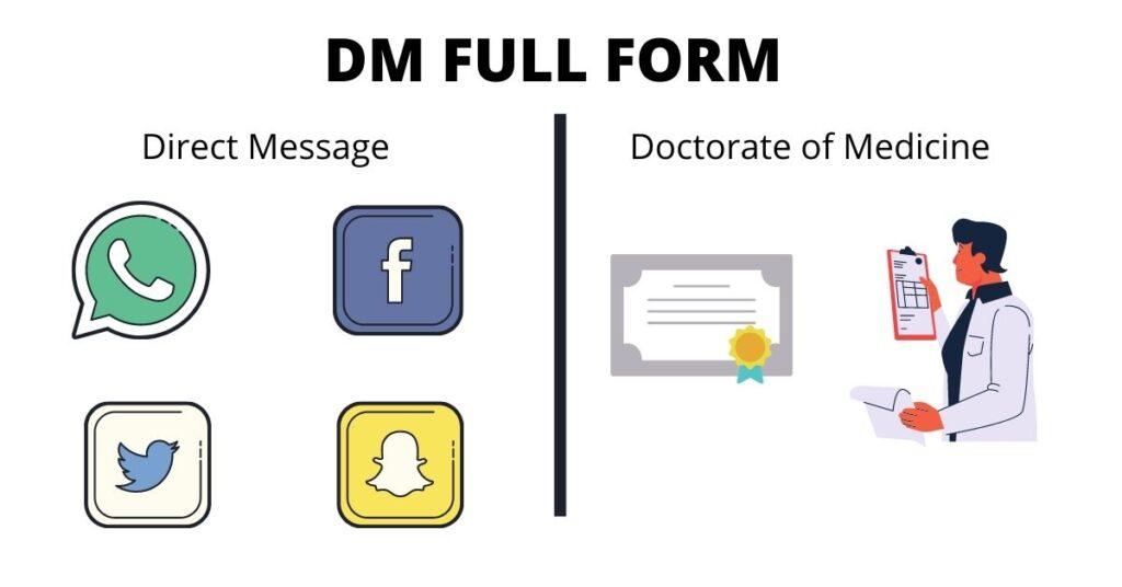 DM FULL FORM