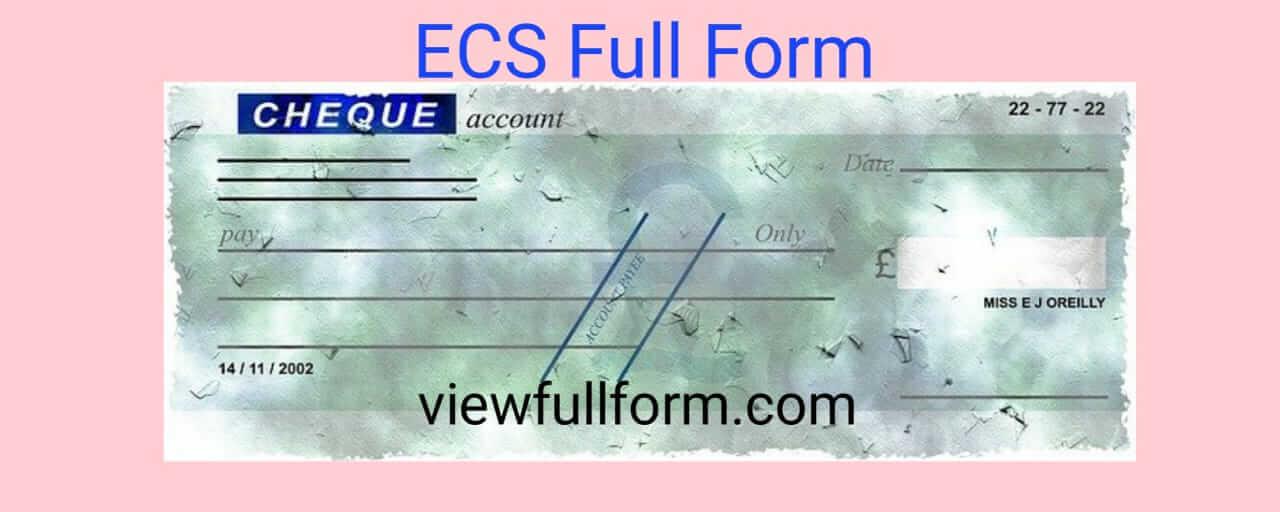 ECS Full Form