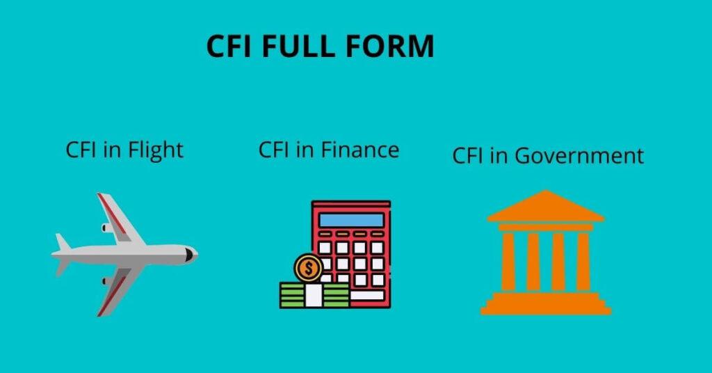CFI FULL FORM
