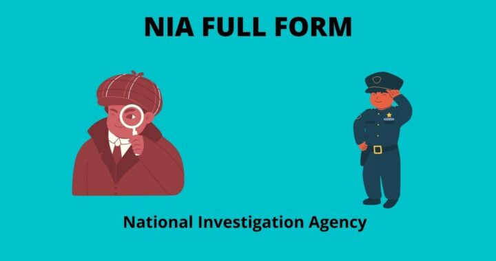 NIA FULL FORM