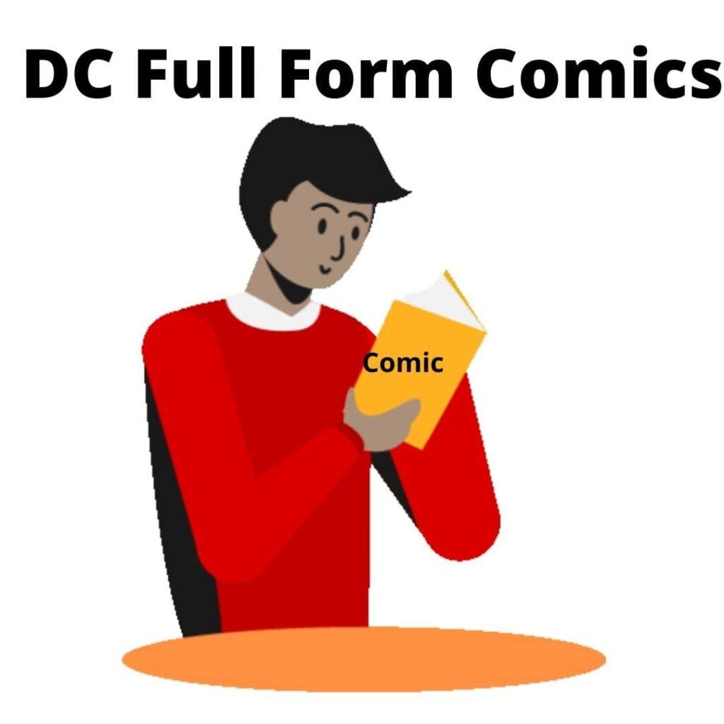 DC Full Form Comics