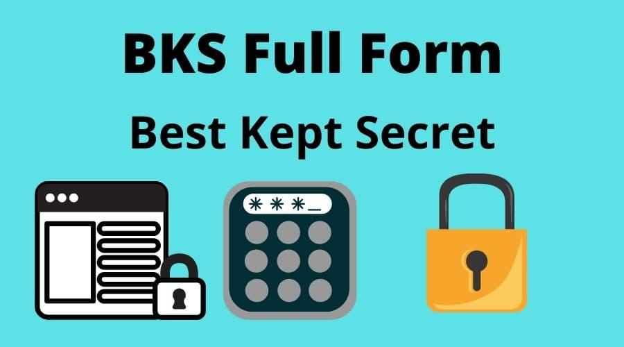 BKS full form