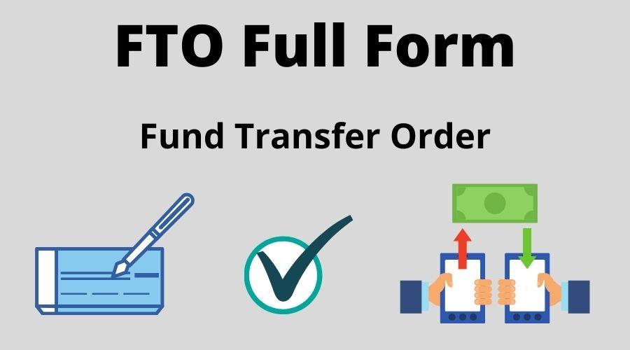 FTO Full Form