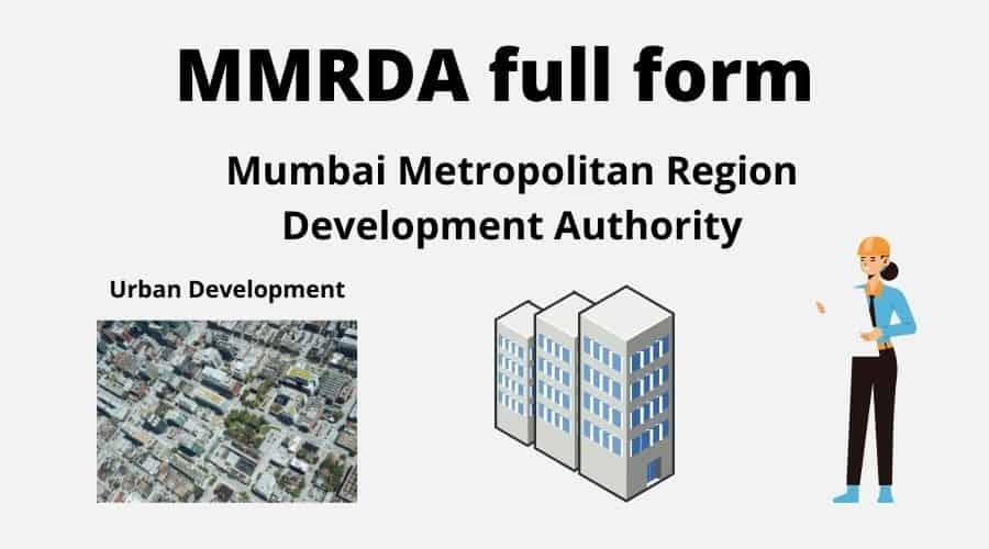 MMRDA full form
