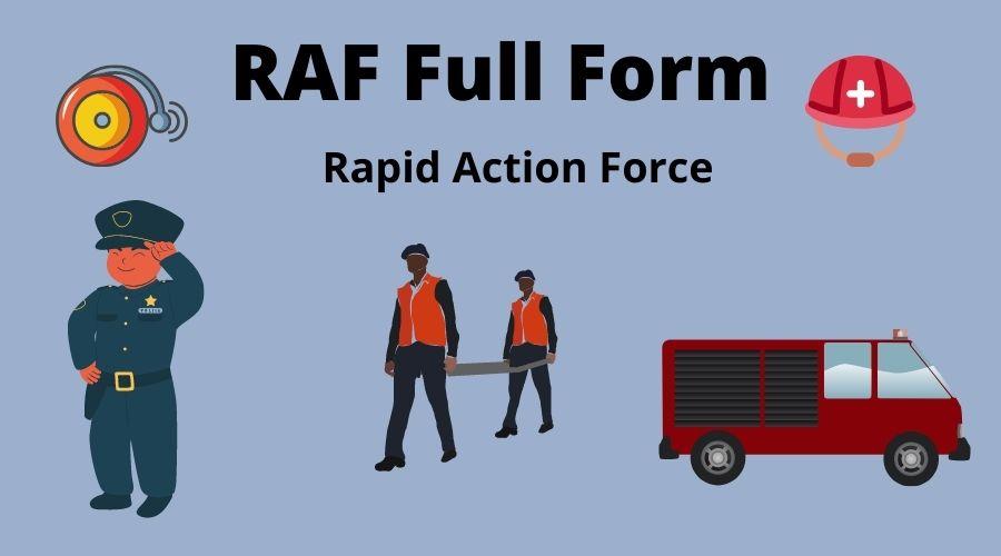 RAF Full Form