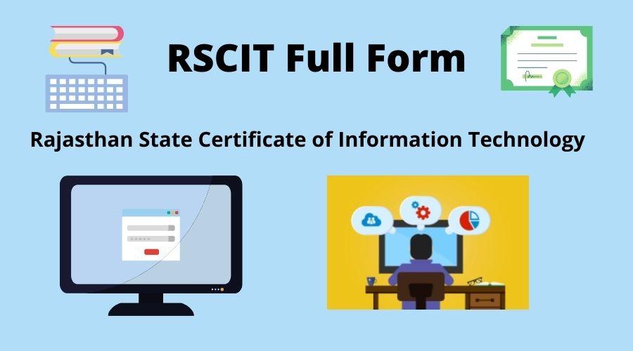 RSCIT full form
